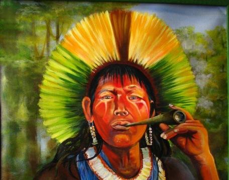 indio Yanomami_by_Ana_Valente